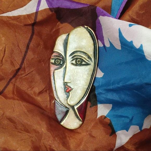 Vintage Pablo Picasso pin